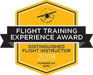 Distinguished Flight Instructor 2018